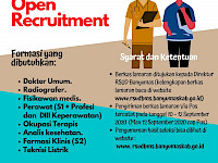Open Recruitment RSUD Banyumas